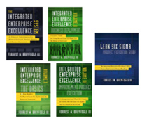 business management system books and lean six sigma 2.0 books -- a 5-book set