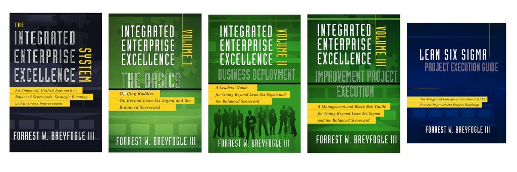 Why Lean Six Sigma Training and Execution Books