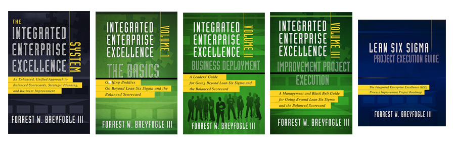 Operational Excellence Implementation Book Plan Software Integrated Enterprise Excellence Book Series