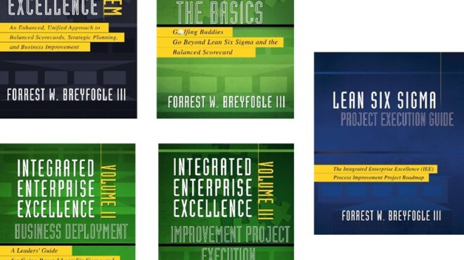 BUNDLED SPECIAL: Integrated Enterprise Excellence - 5 Book Set