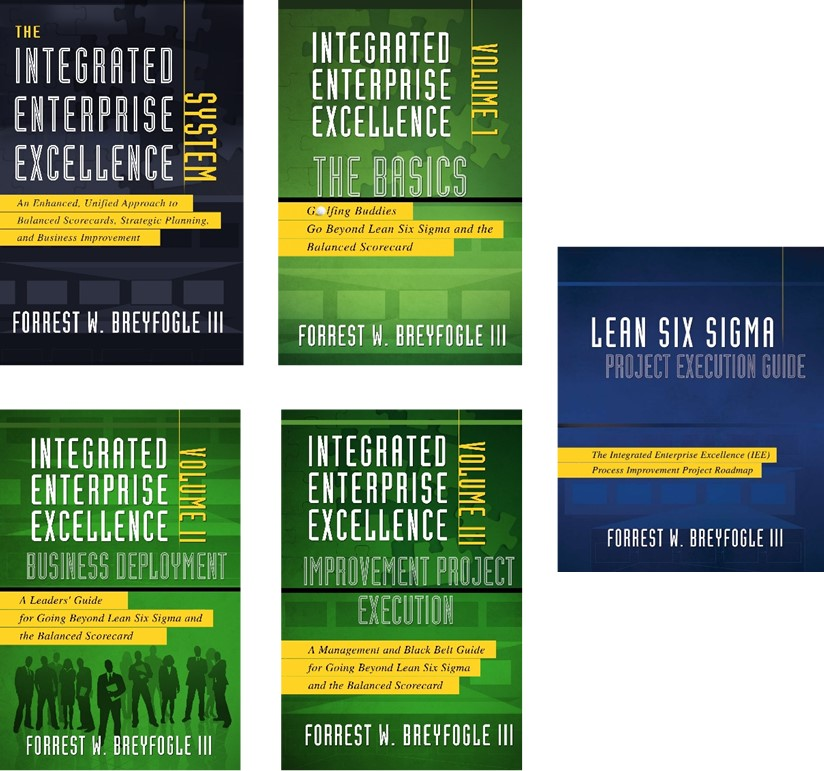 Bundled Special Integrated Enterprise Excellence 5 Book Set