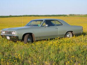 Forrest W. Breyfogle III 50 Year Reflection 1967 Chevrolet Malibu