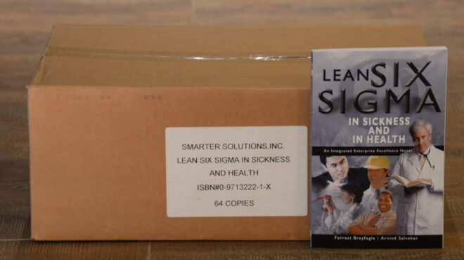 Lean Six Sigma in Sickness and in Health (Box)