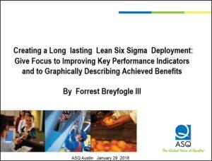 Lean six sigma implementation and organizational culture: ASQ Austin Webinar