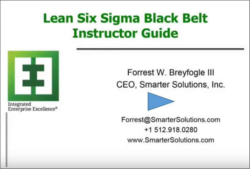 Lean Six Sigma 20 Black Belt Free Training Material And Guide