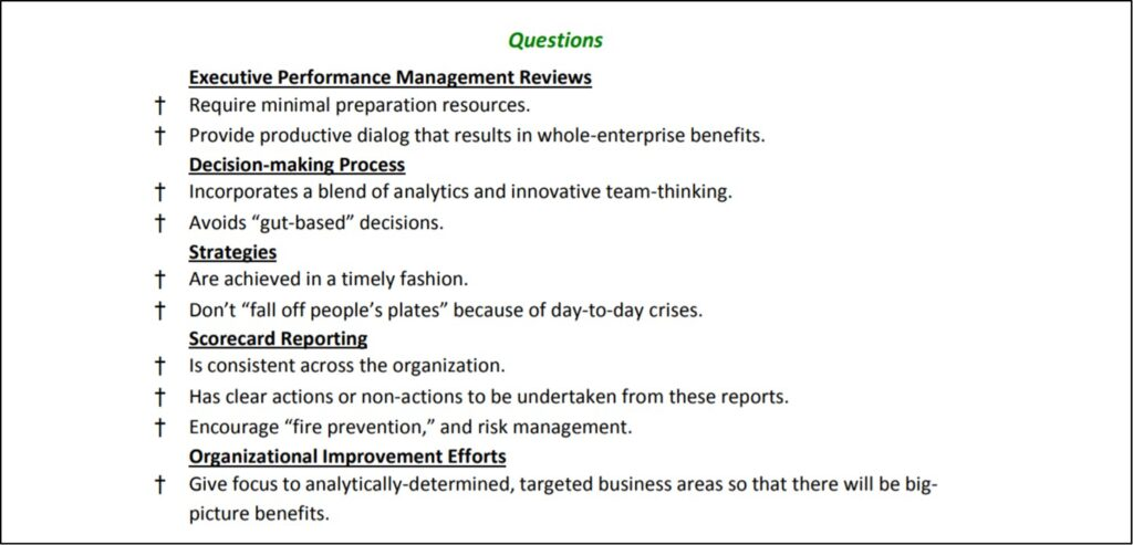 business process improvement steps -- questions to address