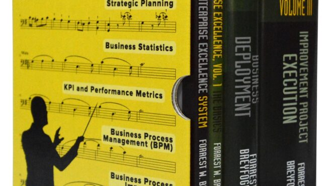 Business Management Systems Thinking: Integrated Enterprise Excellence Orchestrates Business Process Management, Analytics and Statistics with KPI Reporting, Strategic Planning & Process Improvement