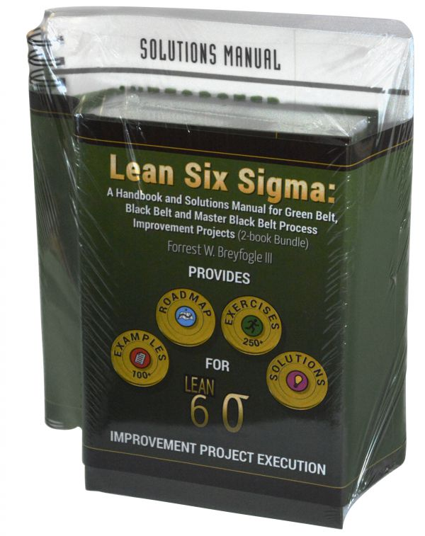 Lean Six Sigma Handbook and Solutions Manual