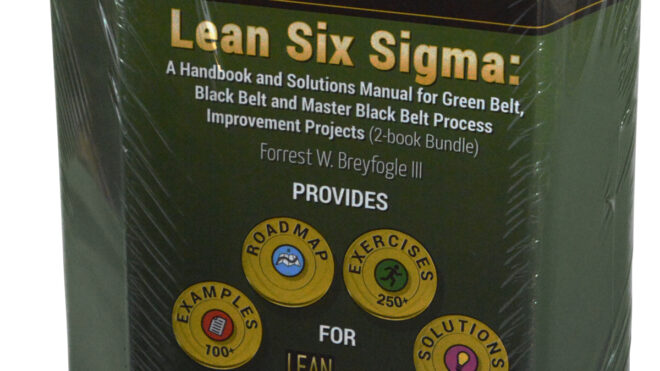 Lean Six Sigma: A Handbook and Solutions Manual for Green Belt, Black Belt and Master Black Belt Process Improvement Projects (2-book Bundle)