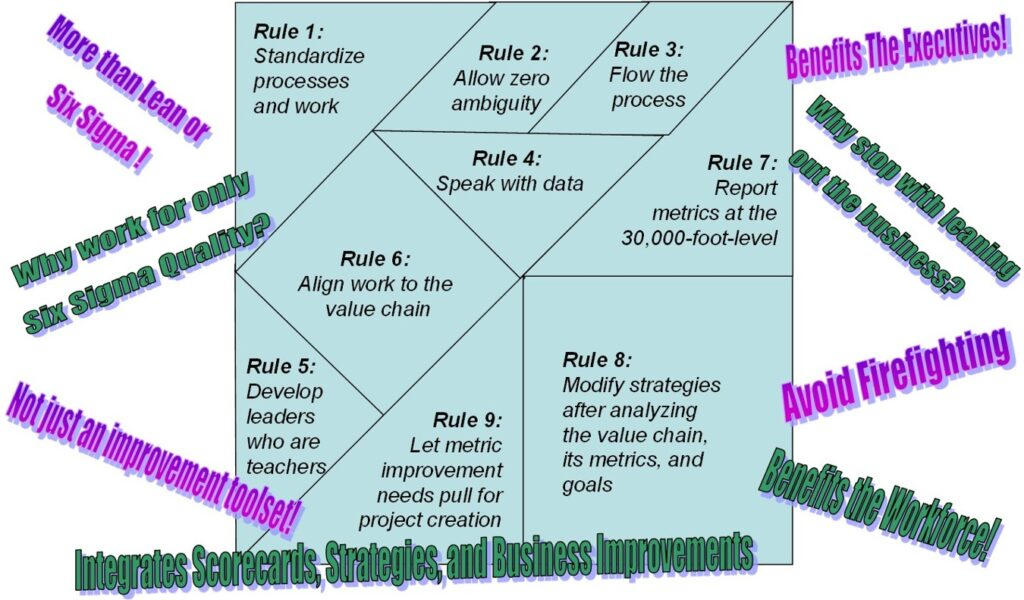 APQC Presentation Developing an Enterprise Excellence Business Management System: Puzzle Resolution